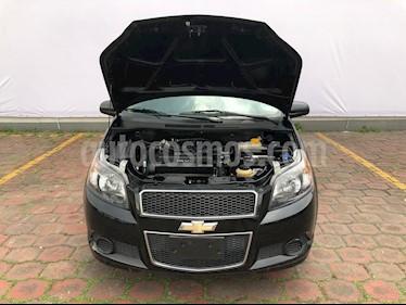 Foto venta Auto usado Chevrolet Aveo LT Aut (2016) color Negro Grafito precio $98,900