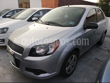 Foto venta Auto usado Chevrolet Aveo LT Aut (2015) color Plata Brillante precio $120,000