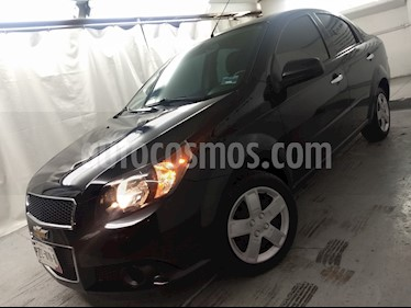 Foto venta Auto usado Chevrolet Aveo LT Aut (2017) color Negro Grafito precio $140,000