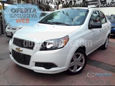 Foto venta Auto Seminuevo Chevrolet Aveo LT Aut (2017) color Blanco precio $140,000