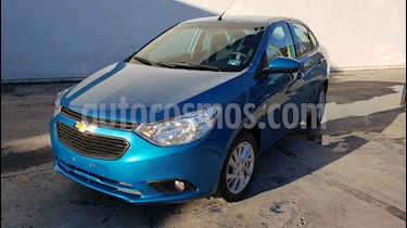 Foto Chevrolet Aveo LT Aut usado (2019) color Azul precio $167,800