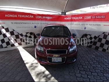 Foto Chevrolet Aveo LT Aut usado (2013) color Rojo Tinto precio $99,000