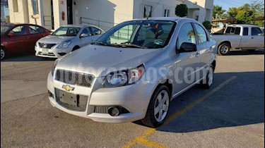 Foto venta Auto usado Chevrolet Aveo LT Aut (2017) color Plata precio $124,900