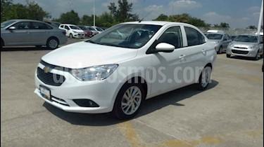 Foto venta Auto usado Chevrolet Aveo LT Aut (2019) color Blanco precio $174,900
