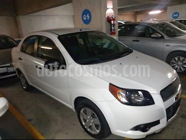 Foto venta Auto usado Chevrolet Aveo LT Aut (2016) color Blanco precio $130,000