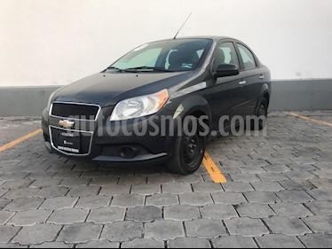 Foto venta Auto usado Chevrolet Aveo LT Aut (2017) color Gris precio $150,000