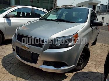 Foto venta Auto usado Chevrolet Aveo LT Aut (2013) color Plata precio $130,000