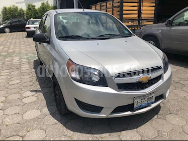 Foto venta Auto usado Chevrolet Aveo LT Aut (2017) color Plata precio $149,900