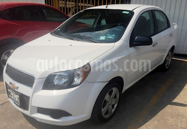 Foto venta Auto usado Chevrolet Aveo LT Aut (2015) color Blanco precio $115,000