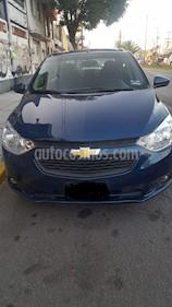 Chevrolet Aveo LT Aut usado (2020) color Azul Oscuro precio $220,000