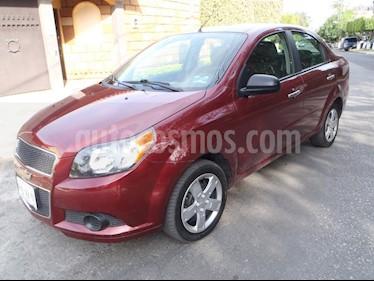 Foto venta Auto usado Chevrolet Aveo LT Aut (2016) color Rojo Tinto precio $129,000