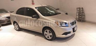 Foto venta Auto usado Chevrolet Aveo LT Aut (2013) color Beige precio $105,000