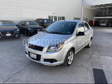 Foto venta Auto usado Chevrolet Aveo LT Aut (2017) color Plata precio $159,000