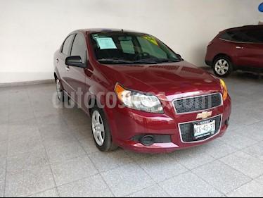 Foto venta Auto usado Chevrolet Aveo LT Aut (2014) color Rojo precio $129,000