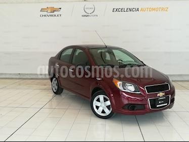 Foto venta Auto usado Chevrolet Aveo LT Aut (2016) color Rojo Tinto precio $139,000