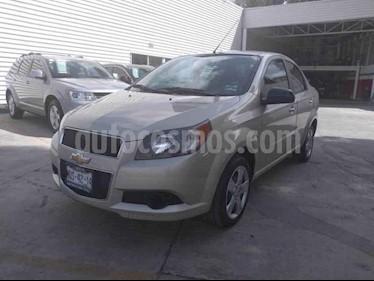 Foto venta Auto usado Chevrolet Aveo LT Aut (2015) color Beige precio $115,000