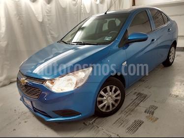 Foto venta Auto usado Chevrolet Aveo LT Aut (2019) color Azul precio $175,000
