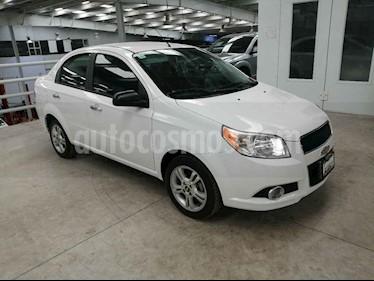 Foto Chevrolet Aveo LT Aut usado (2015) color Blanco precio $140,000