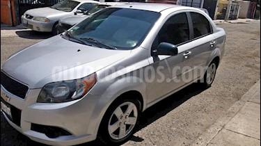 Chevrolet Aveo LT Bolsas de Aire y ABS (Nuevo) usado (2012) color Plata precio $76,000