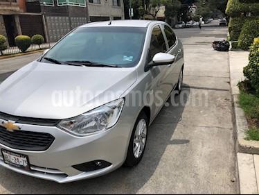 Chevrolet Aveo LT Bolsas de Aire y ABS (Nuevo) usado (2018) color Plata Brillante precio $175,000