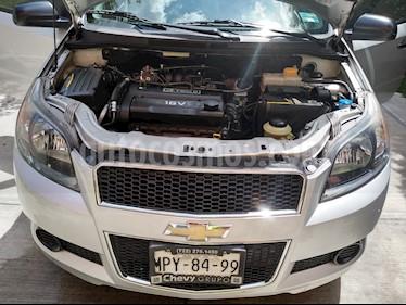 Foto venta Auto usado Chevrolet Aveo LT Bolsas de Aire y ABS (Nuevo) (2014) color Plata Brillante precio $105,000