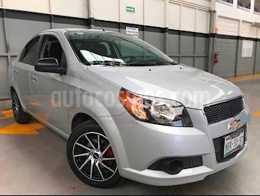 Foto venta Auto usado Chevrolet Aveo LT Bolsas de Aire y ABS (Nuevo) (2017) color Plata Brillante precio $170,000