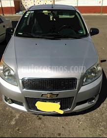 Chevrolet Aveo LT Bolsas de Aire y ABS (Nuevo) usado (2014) color Gris precio $90,000