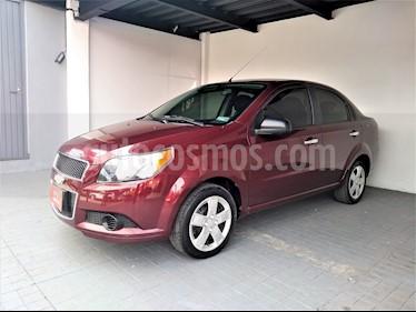 Foto venta Auto usado Chevrolet Aveo LT Bolsas de Aire y ABS (Nuevo) (2017) color Rojo Aden precio $145,000