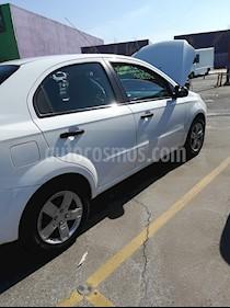 Foto venta Auto Seminuevo Chevrolet Aveo LT Bolsas de Aire y ABS (Nuevo) (2015) color Blanco precio $92,000