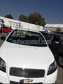 Chevrolet Aveo LT Bolsas de Aire y ABS (Nuevo) usado (2015) color Blanco precio $92,000