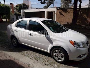 Foto venta Auto usado Chevrolet Aveo LT Bolsas de Aire y ABS Aut (Nuevo) (2015) color Blanco precio $213,000