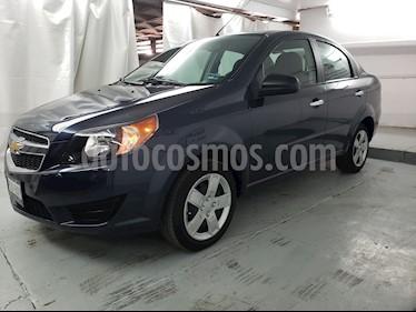 Foto venta Auto usado Chevrolet Aveo LT Bolsas de Aire y ABS Aut (Nuevo) (2017) color Azul Metalico precio $164,900