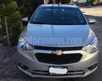 Chevrolet Aveo LT Bolsas de Aire y ABS Aut (Nuevo) usado (2018) color Plata Brillante precio $185,000