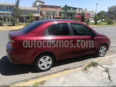 Foto venta Auto usado Chevrolet Aveo LT Bolsas de Aire y ABS Aut (Nuevo) (2014) color Rojo Tinto precio $120,000