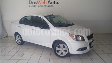 Foto venta Auto Seminuevo Chevrolet Aveo LT Bolsas de Aire y ABS Aut (Nuevo) (2017) color Blanco precio $149,900