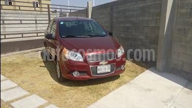 Chevrolet Aveo LT Plus usado (2013) color Rojo Merlot precio $105,000