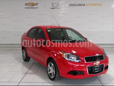 Foto venta Auto Seminuevo Chevrolet Aveo LT Plus (2017) color Rojo Victoria precio $155,000