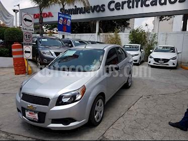 Foto Chevrolet Aveo LT Plus usado (2016) color Plata precio $128,000