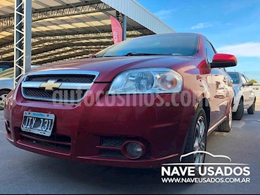 Foto venta Auto Usado Chevrolet Aveo LT (2010) color Bordo precio $215.000