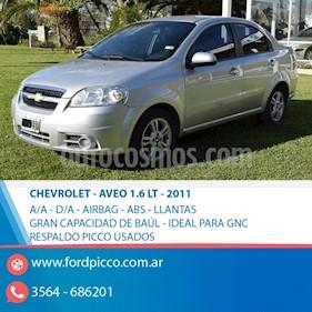 Foto venta Auto usado Chevrolet Aveo LT (2011) color Gris Claro precio $210.000