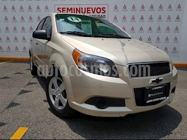 Foto venta Auto usado Chevrolet Aveo LT (2014) color Champagne precio $115,000