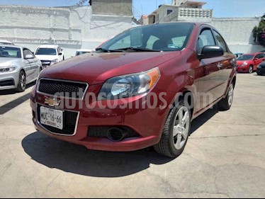 Foto venta Auto usado Chevrolet Aveo LT (2015) color Vino Tinto precio $119,000
