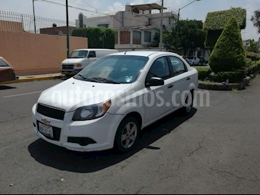 Foto venta Auto usado Chevrolet Aveo LT (2013) color Blanco precio $80,000