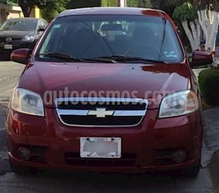 Foto venta Auto usado Chevrolet Aveo LT (2011) color Rojo Tinto precio $85,000