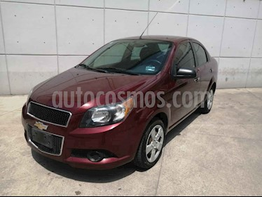 Foto venta Auto usado Chevrolet Aveo LT (2017) color Vino Tinto precio $137,999