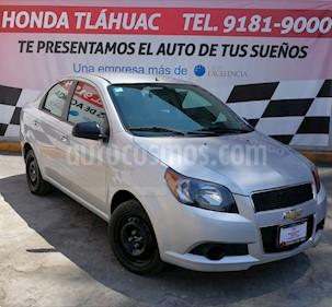 Foto venta Auto usado Chevrolet Aveo LT (2016) color Plata Brillante precio $142,000