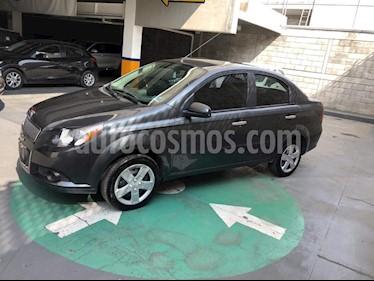 Foto venta Auto Seminuevo Chevrolet Aveo LT (2014) color Gris precio $105,000