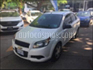 Foto venta Auto usado Chevrolet Aveo LT (2014) color Blanco precio $120,000