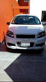 Foto venta Auto usado Chevrolet Aveo LT (2013) color Blanco precio $82,000