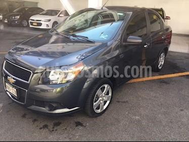 Foto venta Auto usado Chevrolet Aveo LT (2015) color Gris precio $120,000